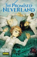 the promised neverland 4 kaiu shirai posuka demizu 9788467932898