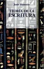 teoria de la escritura-jesus mosterin-9788474261998