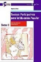 tecnicas participativas para la educacion popular (t. ii) graciela bustillos laura vargas 9788478841998