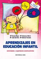 aprendizajes en educacion infantil: actividades y experiencia con structivista 9788483167298