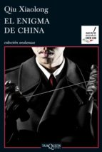 el enigma de china-qiu xiaolong-9788483838198