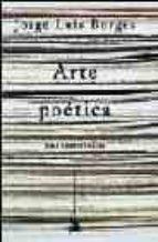 arte poetica: seis conferencias jorge luis borges 9788484321798
