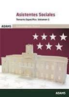 asistentes sociales comunidad de madrid: temario específico vol 1-9788491473398