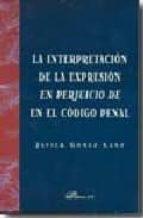 la interpretacion de la expresion