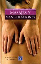 masajes y manipulaciones-roberto carlos rodriguez-9788497942898