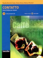 contatto 1a (libro studente + cd audio) 9788820109998