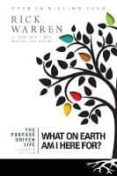 the purpose driven life: what on earth am i here for?-rick warren-9780310337508