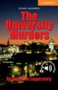 THE UNIVERSITY MURDERS (LEVEL 4) - 9780521536608 - RICHARD MACANDREW