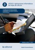 Amazon descargar libros en ipad APLICACIONES INFORMÁTICAS DE HOJAS DE CÁLCULO. ADGD0308