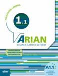 ARIAN A1.1 IKASLEAREN LIBURUA CD ERANTZUNAK - 9788490271308 - VV.AA.
