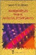 MATEMATICAS PARA ANALISIS ECONOMICO - 9788496062108 - EMILIO COSTA REPARZ