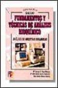 FUNDAMENTOS Y TECNICAS DE ANALISIS BIOQUIMICO - 9788428325318 - VV.AA.