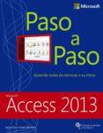 access 2013  (paso a paso)-joyce cox-joan lambert-9788441534018