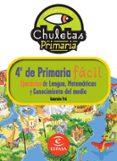 EJERCICIOS PARA 4º DE PRIMARIA: EJERCICIOS DE LENGUA, ATEMATICAS Y CONOCIMIENTO DEL MEDIO (CHULETAS) - 9788467032918 - GABRIELA PRO