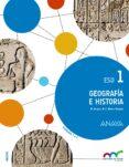 GEOGRAFÍA E HISTORIA 1º ESO MADRID - 9788467850918 - VV.AA.