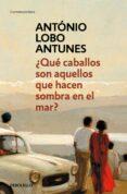 ¿QUE CABALLOS SON AQUELLOS QUE HACEN SOMBRA EN EL MAR? - 9788490328118 - ANTONIO LOBO ANTUNES