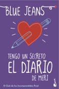 TENGO UN SECRETO: EL DIARIO DE MERI (BOLSILLO) - 9788408152828 - BLUE JEANS