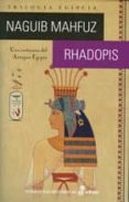 RHADOPIS - 9788435062428 - NAGUIB MAHFUZ