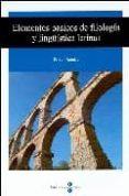 ELEMENTOS BASICOS DE FILOLOGIA Y LINGÜISTICA LATINAS - 9788447530328 - PERE J. QUETGLAS