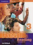 REAL READING WITH ANSWERS (NIVEL 3) - 9780521705738 - LIZ DRISCOLL