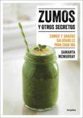 zumos y otros secretos (ebook)-samanta mcmurray-9788416895038