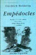 EMPEDOCLES - 9788475174938 - FRIEDRICH HOLDERLIN