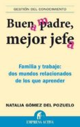BUEN PADRE, MEJOR JEFE: FAMILIA Y TRABAJO: DOS MUNDOS RELACIONADO S DE LOS QUE APRENDER - 9788492452538 - NATALIA GOMEZ DEL POZUELO