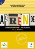 APRENDE GRAMÁTICA Y VOCABULARIO BASICO - 9788497787338 - VV.AA.