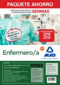 PAQUETE AHORRO ENFERMERO/A SERVICIO DE SALUD DE LA COMUNIDAD DE MADRID. AHORRO DE 143 ¤ (INCLUYE TEMARIOS 1, 2, 3 Y 4; TEST; - 9788414219348 - VV.AA.