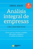 ANALISIS INTEGRAL DE EMPRESAS (4ª ED.) - 9788417209148 - ORIOL AMAT SALAS
