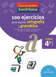 4 VACACIONES GRAMATICA Y ORTOGRAFIA (EDUCACION PRIMARIA) - 9788429407648 - VV.AA.