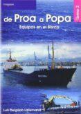 DE PROA A POPA TOMO 2 EQUIPOS EN EL BARCO - 9788497324748 - LUIS DELGADO LALLEMAND