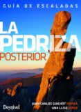 PEDRIZA POSTERIOR. GUIA DE ESCALADA - 9788498294248 - JUAN CARLOS GUICHOT