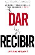 DAR Y RECIBIR - 9788498753448 - ADAM GRANT