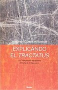 explicando el tractatus: una introduccion a la primera filosofia wittgenstein-alejandro tomasini bassols-9788425440458