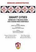 smart cities-jose luis piñar mañas-9788429019858