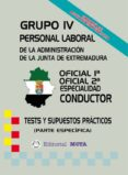 OFICIALES 1ª - 2ª CONDUCTOR (TESTS) - 9788482192758 - VV.AA.
