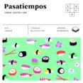 PASATIEMPOS VARIADOS (CUADRADOS DE DIVERSIÓN) - 9788490680858 - VV.AA.