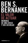 EL VALOR DE ACTUAR - 9788499424958 - BEN S. BERNANKE