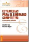 ESTRATEGIAS PARA EL LIDERAZGO COMPETITIVO - 9789506414658 - ARNOLDO HAX