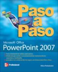 POWERPOINT 2007 PASO A PASO - 9789701069158 - ELLEN FINKELSTEIN