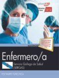 OPOSICIONES SERGAS. SERVICIO GALLEGO DE SALUD ENFERMERO/A TEST - 9788468195568 - VV.AA.