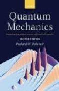 QUANTUM MECHANICS - 9780198530978 - RICHARD W. ROBINETT