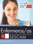 ENFERMEROS/AS. SERVICIO DE SALUD DE CASTILLA - LA MANCHA (SESCAM). TEST ESPECÍFICO - 9788468177878 - VV.AA.