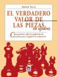 EL VERDADERO VALOR DE LAS PIEZAS EN AJEDREZ - 9788479027278 - ANDREW SOLTIS