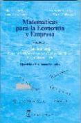 MATEMATICAS PARA LA ECONOMIA Y LA EMPRESA: CALCULO INTEGRAL, ECUA CIONES DIFERENCIALES Y EN DIFERENCIAS FINITAS. PROGRAMACION LINEAL. EJERCICIOS Y PROBLEMAS RESUELTOS - 9788496062078 - JULIAN RODRIGUEZ RUIZ