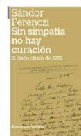 sin simpatia no hay curacion-sandor ferenczi-9789505181278