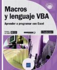 MACROS Y LENGUAJE VBA - 9782409013188 - FREDERIC LE GUEN