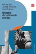 historia de la filosofía política (rustica)-leo strauss-9786071638588