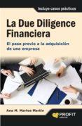 LA DUE DILIGENCE FINANCIERA - 9788415735588 - ANA MARIA MARTOS MARTIN